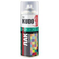 22063 Краска аэрозоль черная матов520мл KUDO