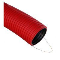 Труба D 110  2 м красная