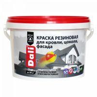 50270 Краска резиновая DALI красно коричневая 3кг рогнеда