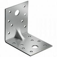 Крепежный уголок оцинкованный равносторонний 100х100х 60х2,0 мм KUR-100- 60 ( 50шт)