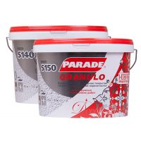 Декор. покрытие  PARADE  с эф.камня S100   Янтарь 7 кг