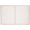 Решетка радиаторная белая 0.6.х1.2 м