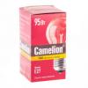 Лампа бытовая прозрачная Camelion 95/Е27
