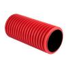 Труба D-110 1 м красная